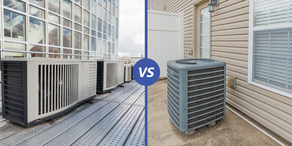 Difference Between Commercial and Residential HVAC System