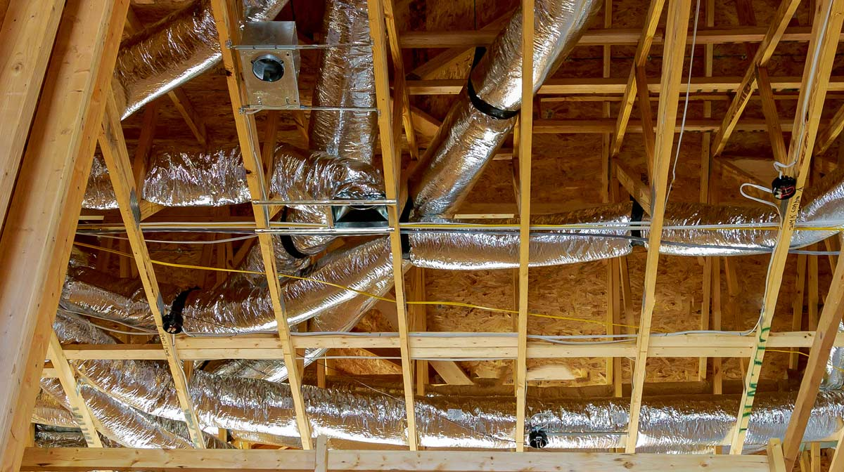 Attic Duct Insulation